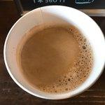 やなか珈琲店 - ホットコーヒー上から