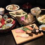 すし さかい - 料理写真:宴会メニュー例