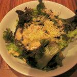 生パスタバカの店 銀座パストディオ - 黒胡椒とオリーブオイルのサラダ