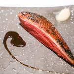 カイノヤ - 出水産 オナガ鴨のアイアンステーキ