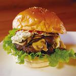 カフェレストラン デュボワ - マッシュルームバーガー
