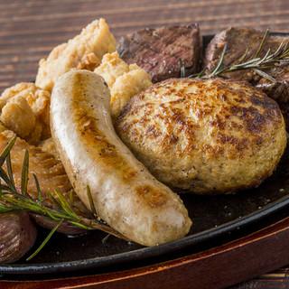 BISTRO-BINGO肉盛り5種盛り