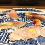 弁慶 - 扇 14,000円コース:はた、赤西貝、金目鯛