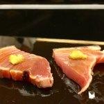 弁慶 - 扇 14,000円コース:メジマグロ