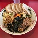 ラーメン英二 - 料理写真:【2018.2.10】ラーメン(豚2枚)¥760+豚2枚追加¥200+汁なし¥130