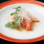メゾン・ド・ユーロン - タラバ蟹の蒸し物