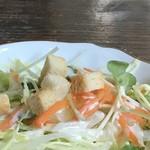 ノラリ&クラリ - 野菜サラダ(2018.2.13)
