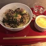 Gyo-Bar - ランチ 豚丼明太マヨのせ 500円