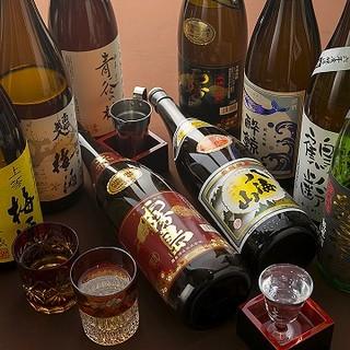 ◇豪華飲み放題◇こだわりの日本酒12種+梅酒15種