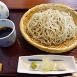 笊蕎麦 刻 - ざる(大盛り)