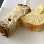 リストランテ ウミリア - パン2種