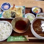 山口家一樹 - 料理写真:天ぷらランチ 950円(税込)