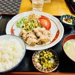 なぽれおん食堂 - チキン南蛮定食