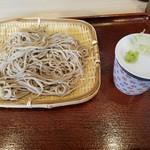 安曇野そば - せいろ(490円)