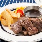肉が旨いカフェ NICK STOCK - 料理写真: