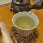 鮨 和食 ひとしずく - ヒレ酒