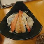 鮨 和食 ひとしずく - 本日の酢の物
