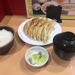 80887048 - 石松餃子定食 10個  ¥980-内税