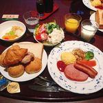 金沢マンテンホテル - 料理写真:モーニング 洋食 @1,000円