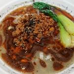 紀州清流担々麺 produce by KEISUKE - 料理写真:黒胡麻担々麺   :   麺がうましっ!