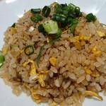 紀州清流担々麺 produce by KEISUKE - 料理写真:半チャーハン: ぱらぱらでしたな