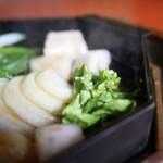 三嶋亭 - 菜花、玉葱