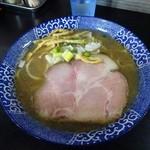 80890905 - 煮干しらー麺(黒)750円