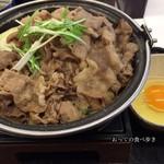 吉野家 - 牛すき鍋単品大盛 650円