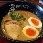 ラーメン 一作 - 【こってりらーめん + 煮玉子】¥700 + ¥100