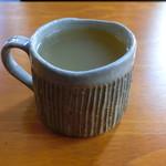 珈琲茶房 かめのや - ホットりんごジュース