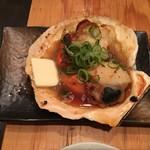 防波亭 - ホタテバター焼き(天然)