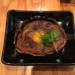 防波亭 - カニミソ甲羅焼