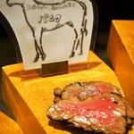 肉びすとろ グルマン 三年坂 - 名物料理お肉のかいだん(馬肉)