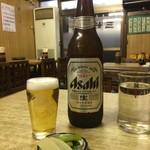80894615 - 瓶ビール(小)は無かったので(大)¥550