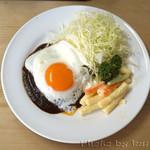 洋食 キラク - ハンバーグ