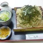 ヤマカそば - 料理写真:ざるラーメン(大盛) 2018.2月