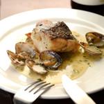 サルサヴェルデ 鮮魚の煮込み グリーンソース