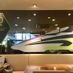 カフェエスタシオン博多 - Eva専用デザインの店内スペース。
