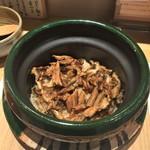 うえの - 釜炊き穴子飯御膳(2916円)