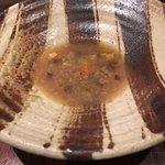 朱藏 - 牛蒡と玉葱のスープ