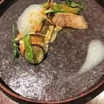 朱藏 - お魚(鰆と白子)