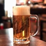牛たんの一仙 - ☆生ビール 580円