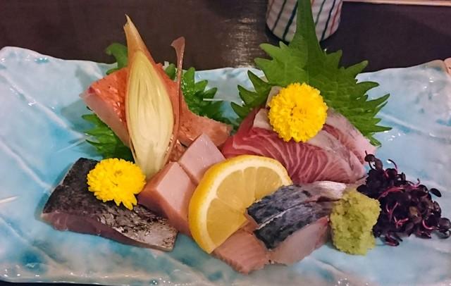 鮨 季節料理 喜八 - 逸品揃いのお造り盛り合わせ
