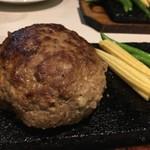 溶岩焼肉ダイニング bonbori - ハンバーグ