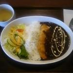 花一食堂 - 「チキンカツカレー」950円。