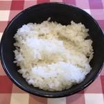 ヒノマルステーキ - ライス