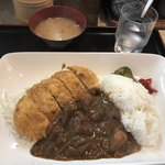 柳ばし - 料理写真:カツカレー