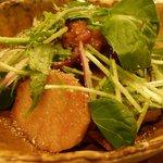 達屋 TAZ-YA - 宮崎豚の肩ロースと長芋の香味醤油