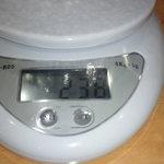 バーグ - キャベツの器の重さ 0.238キロ