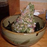 伊豆の味処 錦 - 鯵のたたき丼